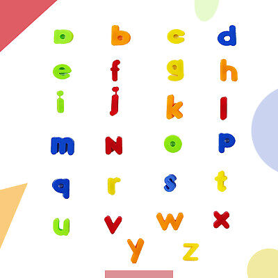 Magnetic Colorful Alphabet Letters Numbers Symbols Children Learning Toy 80pcs • 5.85£
