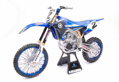Yamaha YZ450F #2 Cooper Webb 2017 Motocross 1:6 Model 49513 NEW RAY • 41.91£