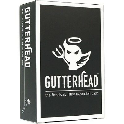 Gutterhead - The Fiendishly Filthy Expansion Pack [Drinking & Party Game] • 9.99£