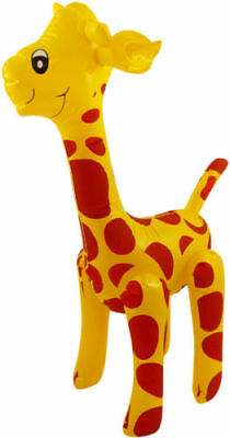 Inflatable Blow Up Giraffe - Jungle Zoo Animal Party Novelty Toy  X99 077 • 2.99£