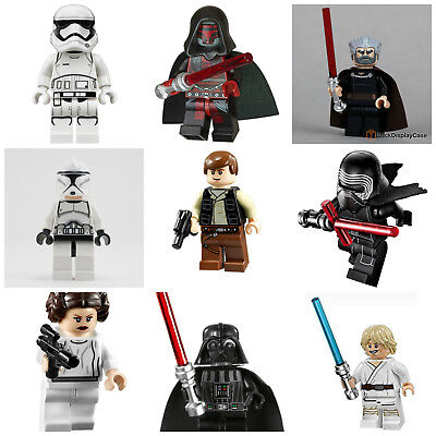 Star Wars Toys Luke Darth Vader Kylo Ren Han Solo Mini Figures Collectibles GIft • 12.99£