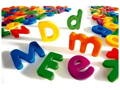 Magnetic Numbers And Letters Learning Toy Fridge Magnets • 3.99£