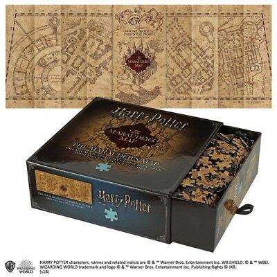 Harry Potter Marauder's Map 1000pc  Jigsaw Puzzle Noble Collection NN9457 • 19.49£