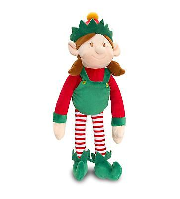 Dangly Girl Elf For Your Shelf Christmas Plush 12cm Or 20cm • 7.25£