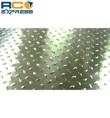 Hot Racing 1/10 Scale Aluminum Silver Diamond Plate (2) ACC1808DP • 12.98£