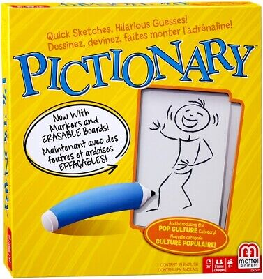 Pictionary Family Board Game • 24.99£