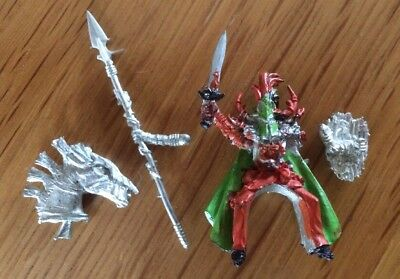 Warhammer Chaos Lord Knight OOP Metal Miniatures RARE • 17.95£