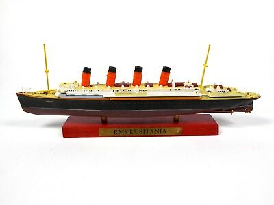 RMS LUSITANIA  Transatlantisches Boot 1:1250 Editions Atlas - 05 • 15.34£