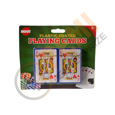 Pack Of 2 PLAYING CARDS-Poker Gambling Gaming Snap Etc Deck Kings Queens FAST  • 2.13£