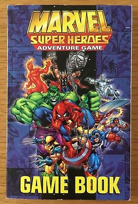 Marvel Super Heroes Adventure Game Game Book Softback Edition TSR • 44.95£