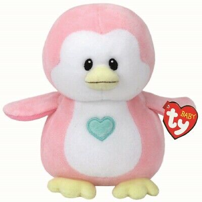 Ty Beanie Babies 32156 Penny The Pink Penguin Baby Regular • 7.95£