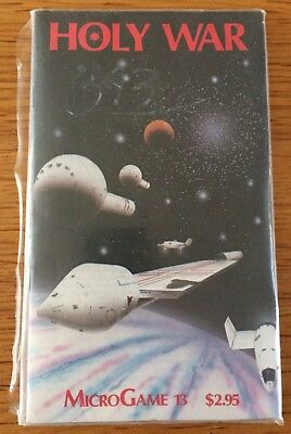 Vintage Microgame #13 Holy War Sci-Fi Complete Boardgame 1979 RARE • 19.95£