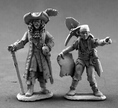 Reaper Miniatures - 03635 - Pirate Lord And Cabin Boy - DHL • 8.90£