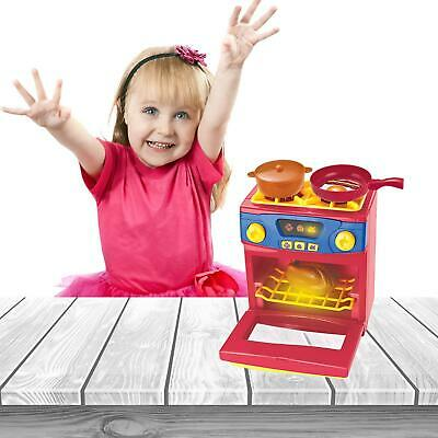 Kids Household Toy Pretend Play Kitchen Appliances Microwave Oven • 12.99£
