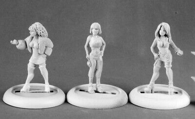 Reaper Miniatures - 50157 - Townsfolk: Ladies Of The Night - Chronoscope • 7.45£