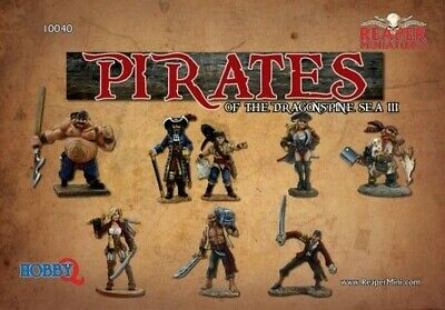 Reaper Miniatures - 10040 - Pirates Of The Dragon Spine Sea III - Box Sets • 44.79£