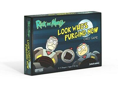 Rick And Morty: Look Who's Purging Now  (Card Game) [Board Game] • 14.99£