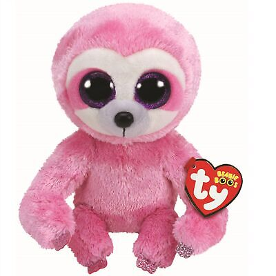 Ty Beanie Boos 36280 Simone The Pink Sloth Boo Regular • 7.50£