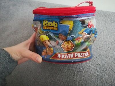 Bob The Builder Bath Puzzles Kids Boys Girls Toy Children Toddlers * Christmas * • 6.55£