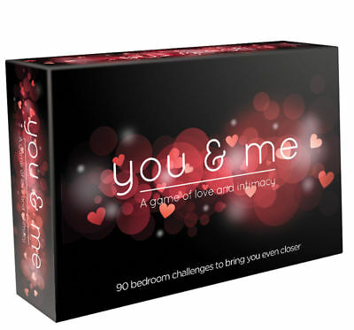 YOU & ME GAME Of Love And Intimacy Dice Timer Cards Sex Adult Board GIFT  • 12.49£
