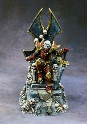 Reaper Miniatures - 03807 - Dragoth The Defiler, Undead Lord On Throne - DHL • 21.99£