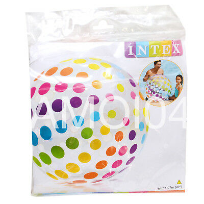 Intex Kids Extra Large 42  Inch Inflatable Ball For Pool Or Beach New • 6.57£