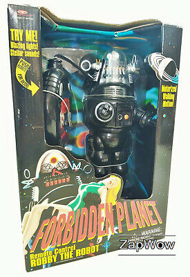 ROBBY THE ROBOT 1999 Forbidden Planet Remote Control Trendmasters RC SciFi 1990s • 164.99£