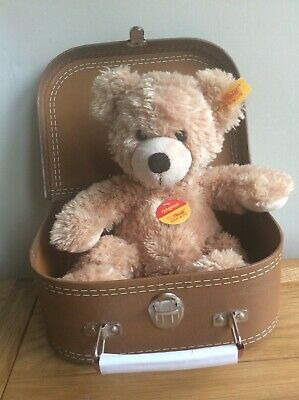 Steiff Brown Bear With A Suitcase 🧳 • 32£