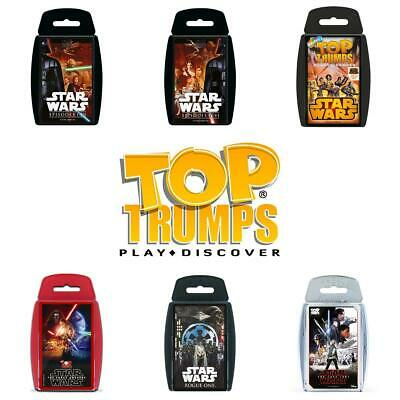 Top Trumps Star Wars Card Games - Brand New & Sealed Direct From Manufacturer • 4.99£
