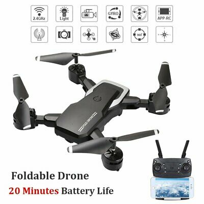 RC Drones L103 2.4G With 1080P HD Camera WIFI FPV Foldable LF609 Quadcopter UK • 40.99£