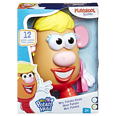Playskool Hasbro Mrs Potato Head Preschool Learning Girls Boys Toy • 9.95£