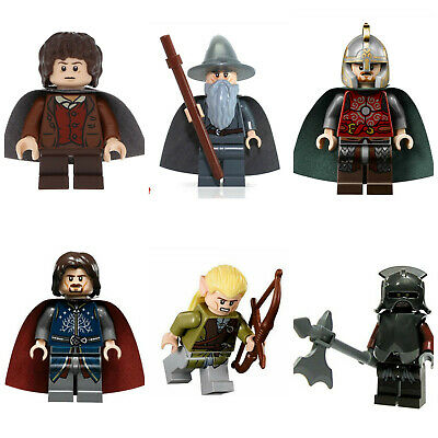 Lord Of The Rings Hobbit Bromir Mini Figures Orcs Aragorn,Frodo,Gandalf,legolas • 29.99£
