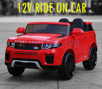 Ride On 12v Kids Electric Battery Remote Control 2.4g Toy Car • 99.99£