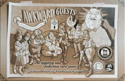 Awkward Guests - Mystery And Deduction Card Game • 32.99£