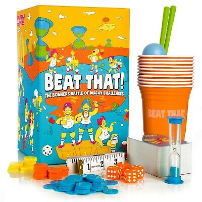 Beat That! Family Party Game Of Wacky Challenges - Great Fun For Kids & Adults • 24.95£