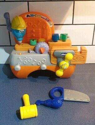 Chicco Talking Carpenter Workbench Kids Toy • 15£