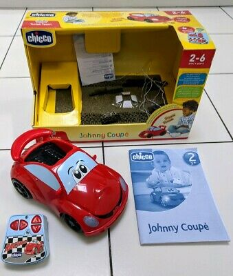 Chicco Johnny Coupe Remote Control Red Car With Lights *BOXED* • 15£
