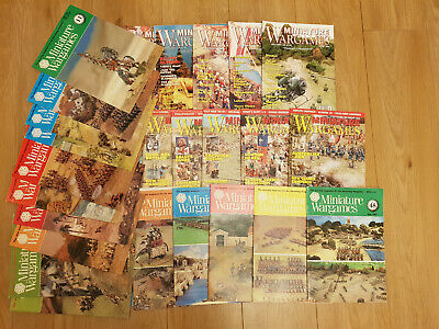 Collection Of 31/ Miniature Wargames Magazine Series • 32.99£