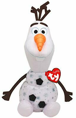 Ty Beanie Babies 90260 Disney Frozen 2 Olaf The White Snowman With Sound Large • 27.63£
