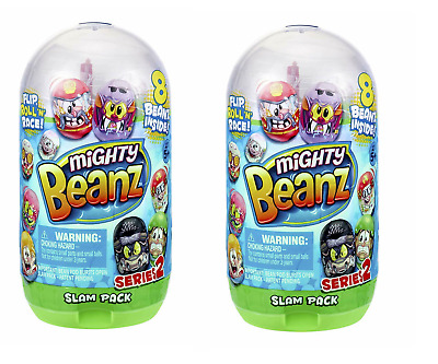Mighty Beanz Slam Pack Series 2 With 8 Beanz Inside • 15.99£
