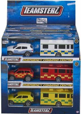 Police Emergency Command Center Police, Fire And Rescue Vehicle Toy Playset • 8.93£