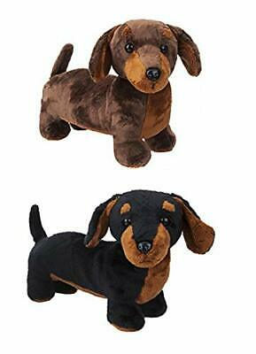 30cm Sausage Dog Dachshund Plush Soft Toy Teddy • 11.99£
