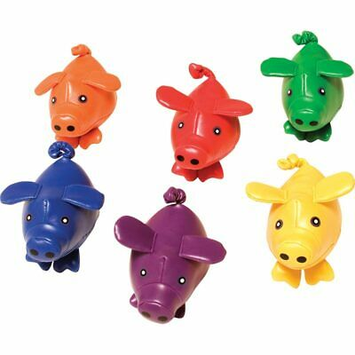 Colourful Bean Bag Pigs Piglets Sports Throwing Catching Pe Sensory Toy Nursery • 12.49£