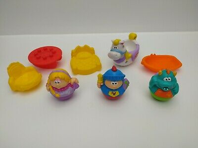 Weebles 2005 Playskool Weebalot Castle Accessories Only - Pre-Owned • 16.99£