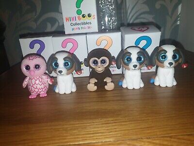 TY MINI BOOS Series 1 Collectible Figures - X5 • 7£