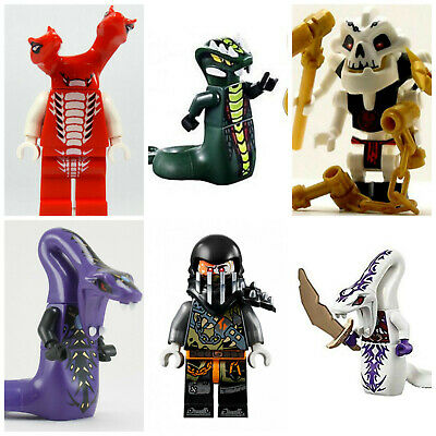 Ninjago Pythor Mini Figures Serpentine Lloyd Cole Jay Kai Sylor Pythor Ninja Toy • 3.79£