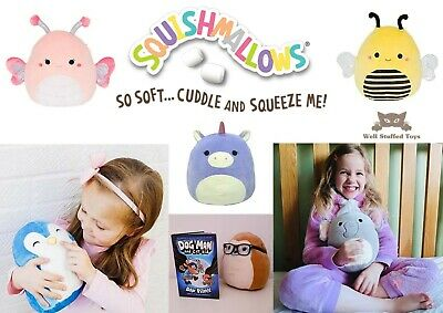Squishmallows - 7.5 Inch Super Soft Squishy Plush Pillow Pet Toy • 10.49£