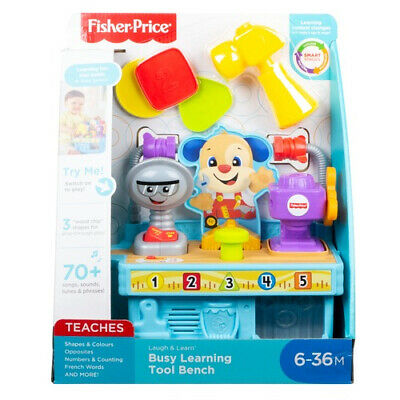 Fisher Price Laugh & Learn Busy Learning Tool Bench • 14.99£