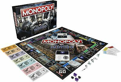 Monopoly Black Panther Marvel Edition Board Game • 20.49£