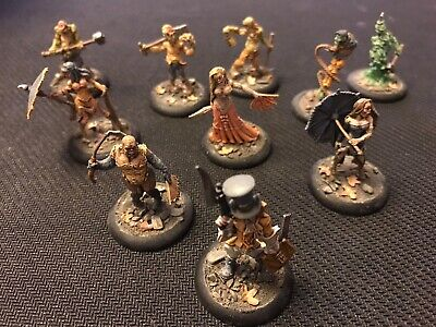 Painted Malifaux Seamus Crew Plus Additional Characters • 65£